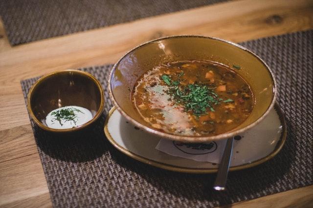 soup, electrolytes