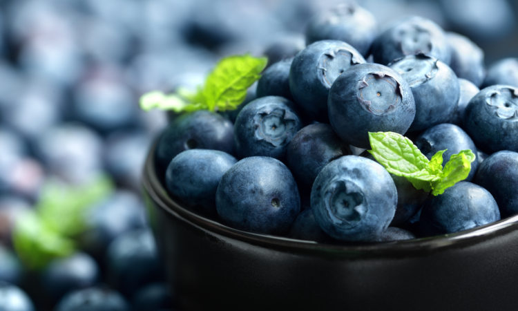 blue foods, blueberries, purple foods