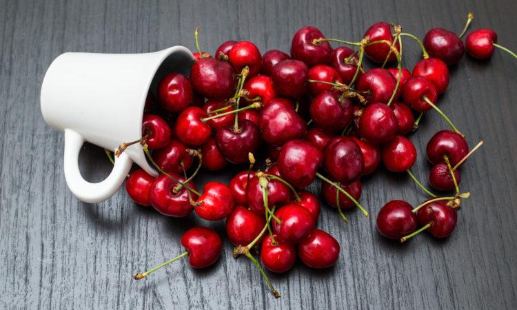 cherry vanilla smoothie, repair, protein shake
